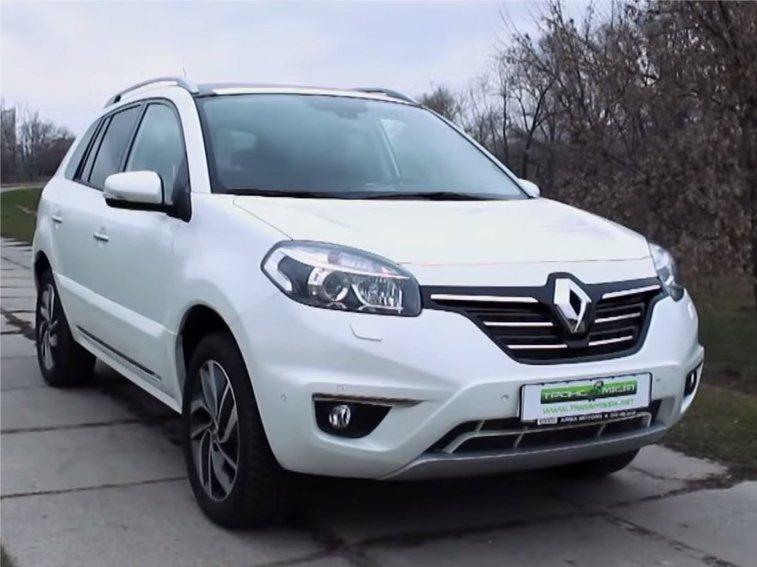 Renault Koleos 2014 — Trans MISSIA