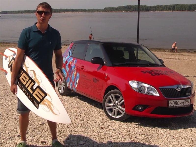 Skoda Fabia RS 2012 — Игорь Бурцев