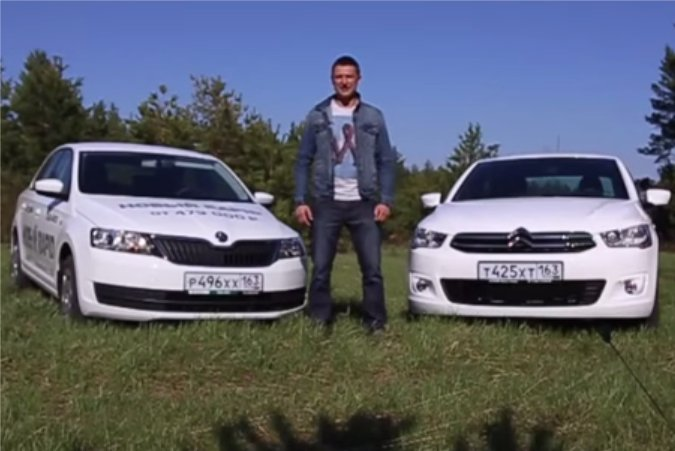 Citroen C-Elysee vs Skoda Rapid - Игорь Бурцев