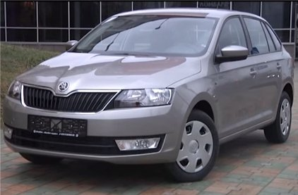 Skoda Rapid Spaceback 2013 - Автопанорама