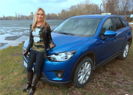 Mazda CX-5 2013 — Москва рулит