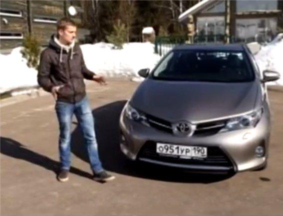 Toyota Auris 2013 — Наши тесты