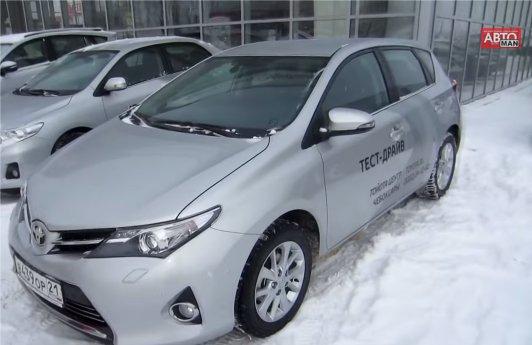Toyota Auris 2013 — Anton Avtoman