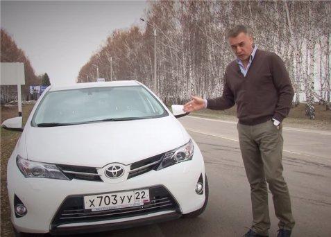 Toyota Auris 2013 — Александр Михельсон