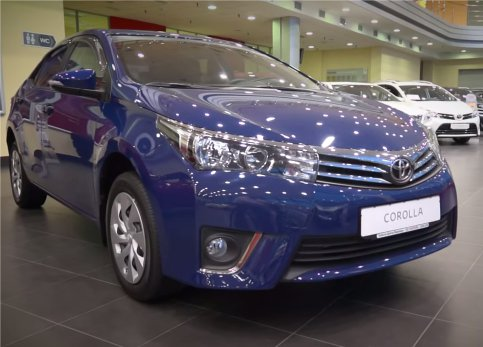 Toyota Corolla 2013 — Александр Михельсон
