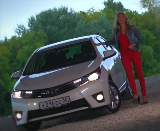 Toyota Corolla 2013 — Москва рулит
