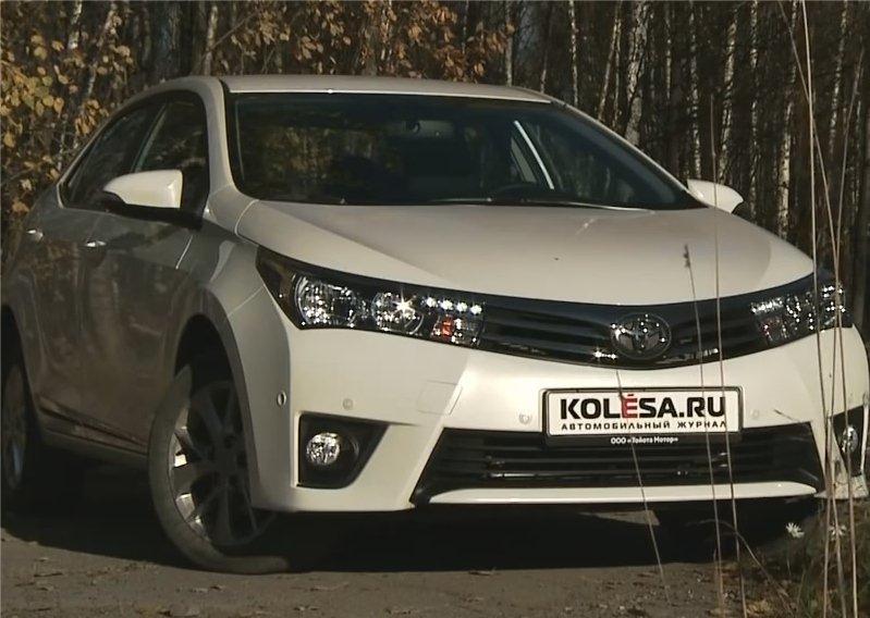 Toyota Corolla 2013 — KolesaRu