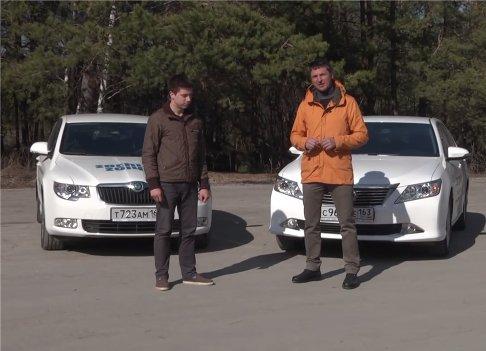 Toyota Camry vs Skoda Superb — Игорь Бурцев
