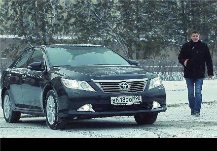 Toyota Camry 2012 — Пётр Баканов
