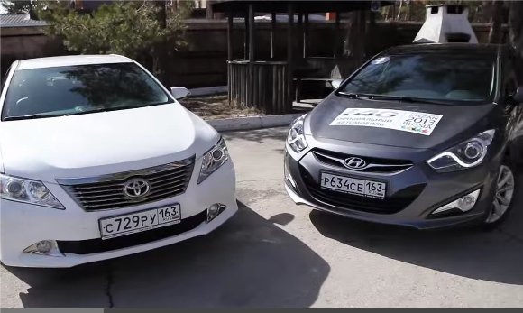 Toyota Camry vs Hyundai i40 — Игорь Бурцев