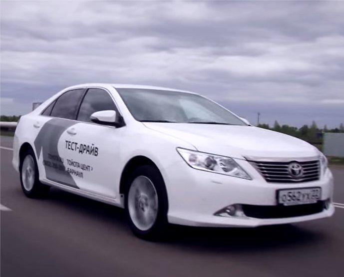 Toyota Camry 2013 — Александр Михельсон