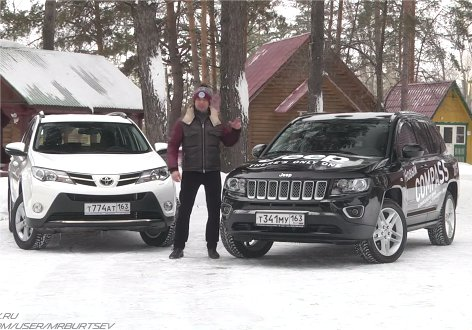 Toyota RAV4 vs Jeep Compass - Игорь Бурцев
