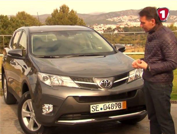 Toyota RAV4 2013 — Первый тест