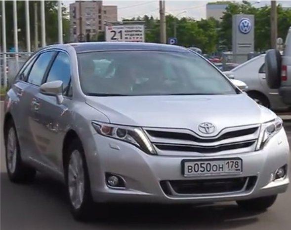 Toyota Venza 2013 — Бибика