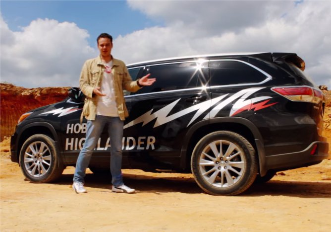 Toyota Highlander 2014 — Сar4mancom