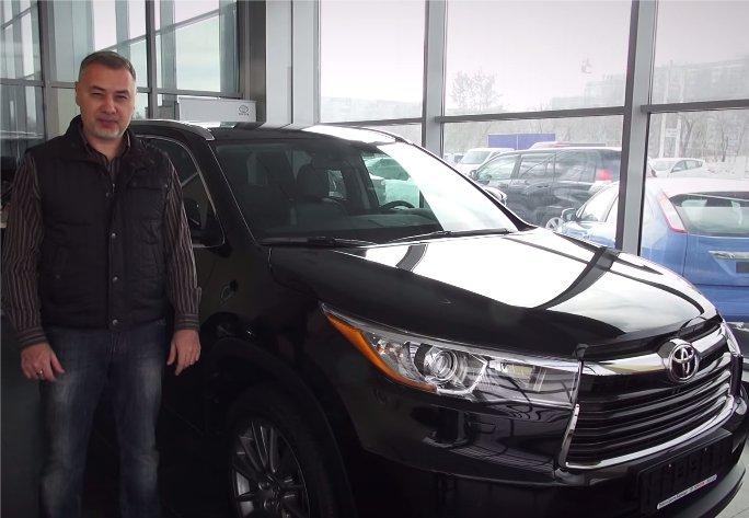 Toyota Highlander 2014 — Александр Михельсон