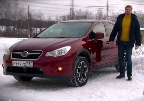 Subaru XV 2013 — TopGear Россия