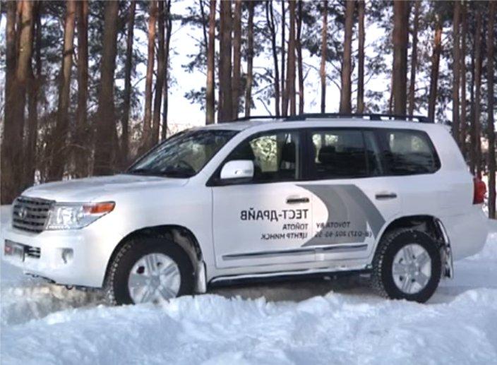 Toyota Land Cruiser 200 2012 — Автопанорама