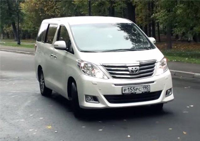 Toyota Alphard 2012 — Большой тест-драйв