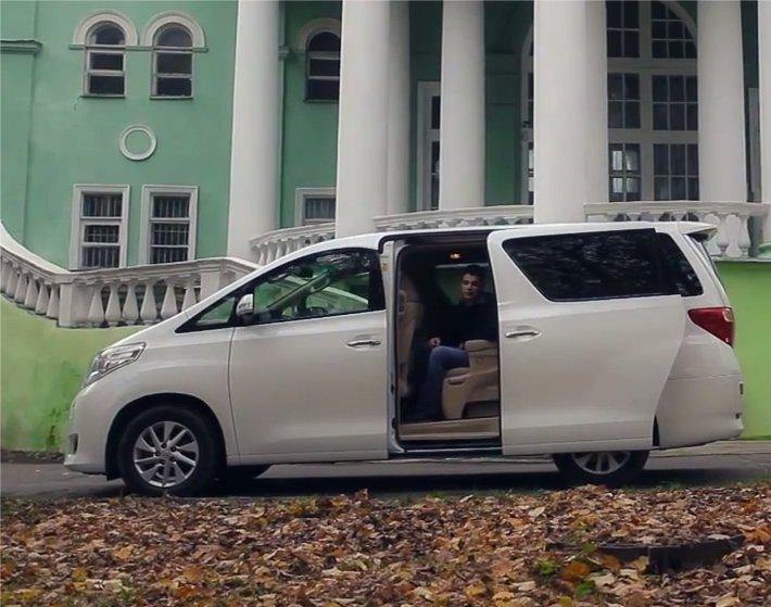 Toyota Alphard 2012 — Пётр Баканов
