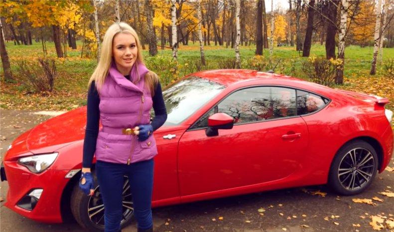 Toyota GT86 2012 — Москва рулит