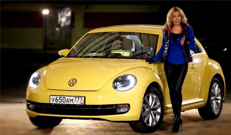 Volkswagen Beetle 2014 — Москва рулит