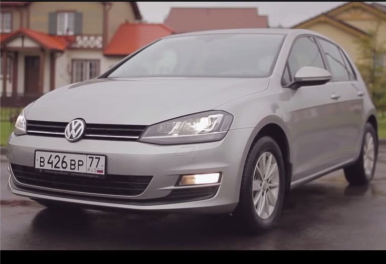 Volkswagen Golf 2013 - Пётр Баканов