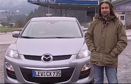 Mazda CX-7 дизель 2010 — Наши тесты