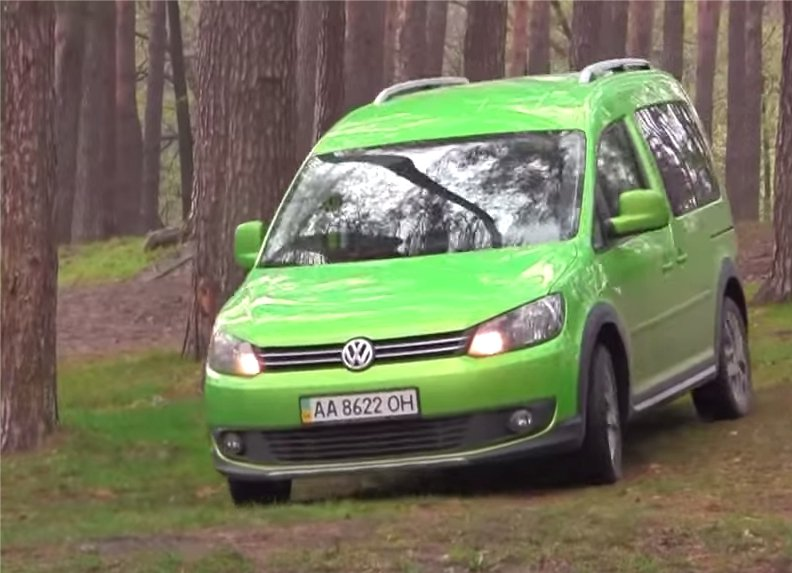 Volkswagen Caddy Cross 2013 — Первый тест