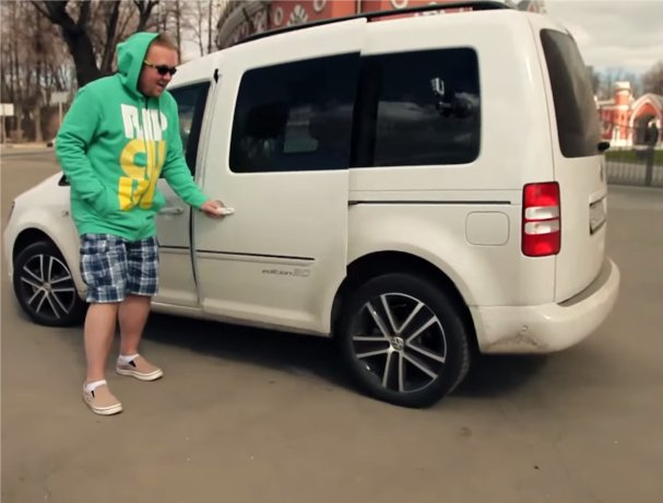 Volkswagen Caddy 2013 — Большой тест-драйв