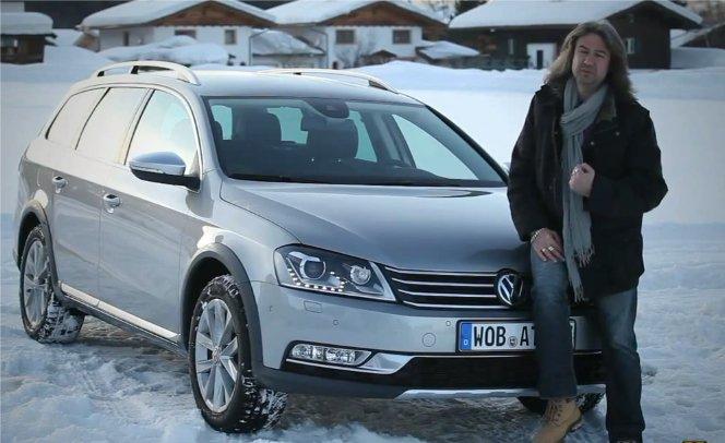 Volkswagen Passat Alltrack 2012 — MotorLive