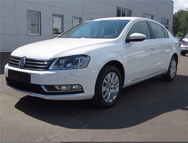 Volkswagen Passat 2012 — MegaRetr