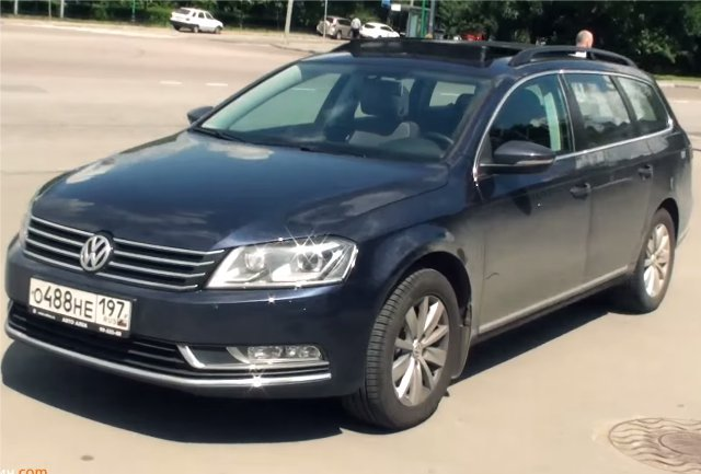 Volkswagen Passat Универсал 2011 — Большой тест-драйв