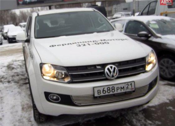 Volkswagen Amarok 2012 — Anton Avtoman