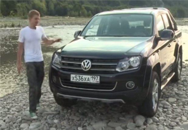 Volkswagen Amarok 2013 — Наши тесты