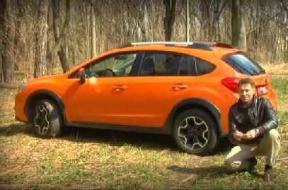 Subaru XV 2012 — Первый Тест