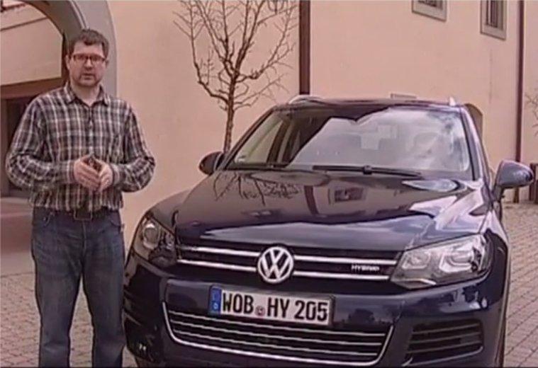 Volkswagen Touareg 2012 — Наши тесты