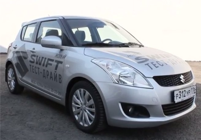 Suzuki Swift 2012 - MegaRetr