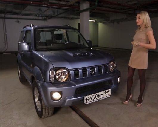 Suzuki Jinmy 2012 — Москва рулит