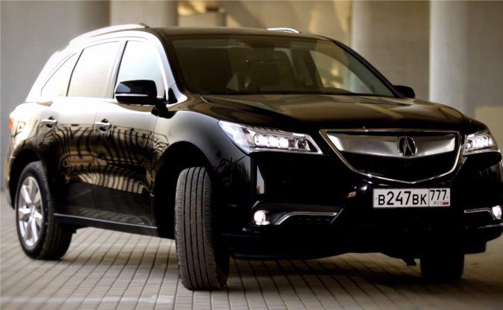 Acura MDX 2014 — Москва рулит