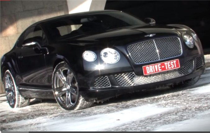 Bentley Сontinental GT W12 2012 — DriveRu
