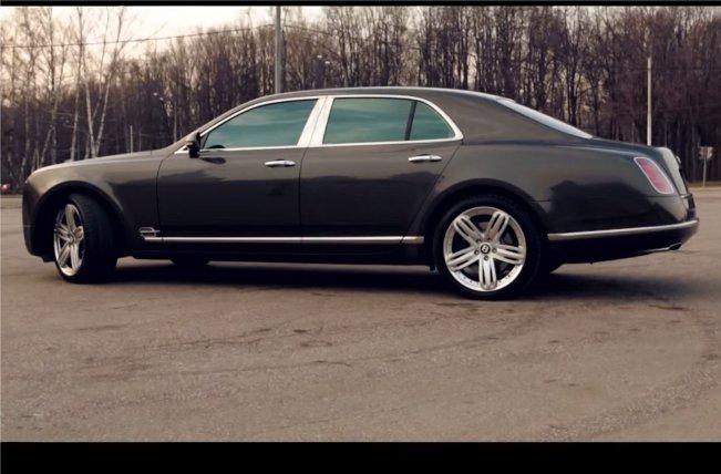 Bentley Mulsanne 2013 — Давидыч (Осторожно, мат)