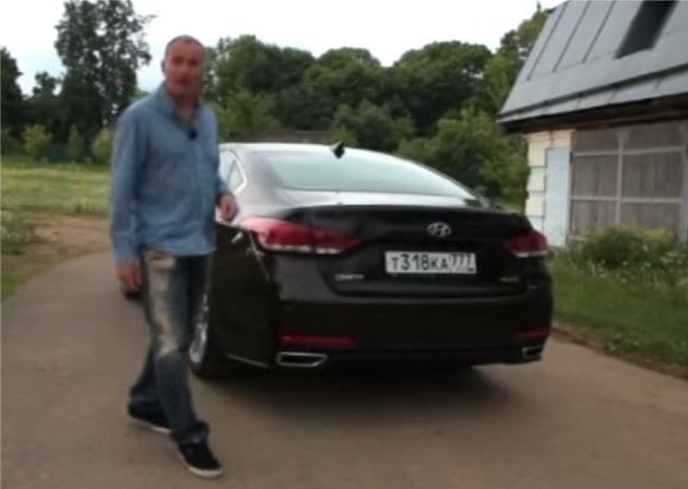 Hyundai Genesis 2014 — Наши тесты