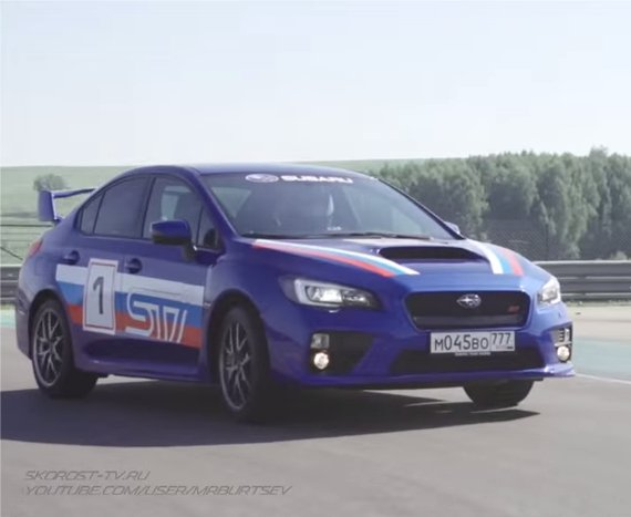 Subaru Impreza WRX STi 2014 — Игорь Бурцев