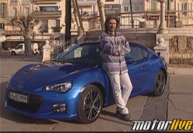 Subaru BRZ 2012 — Motorlive