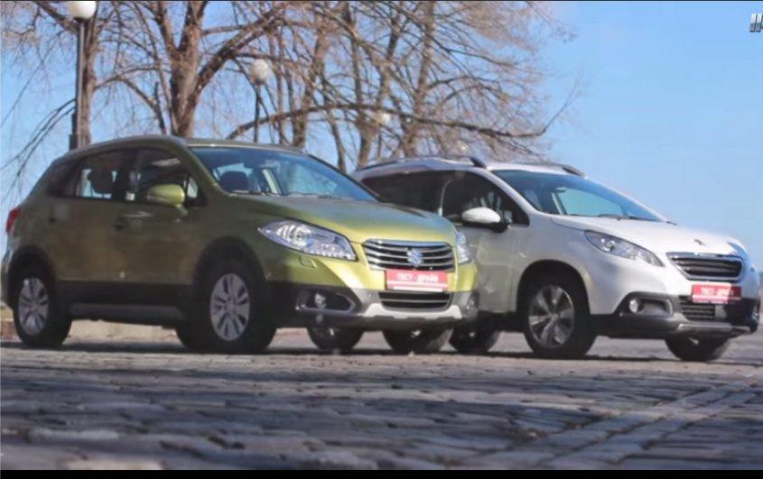 Suzuki SX4 vs Peugeot 2008 — Две лошадиные силы
