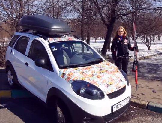 Chery Indis 2012 — Москва рулит