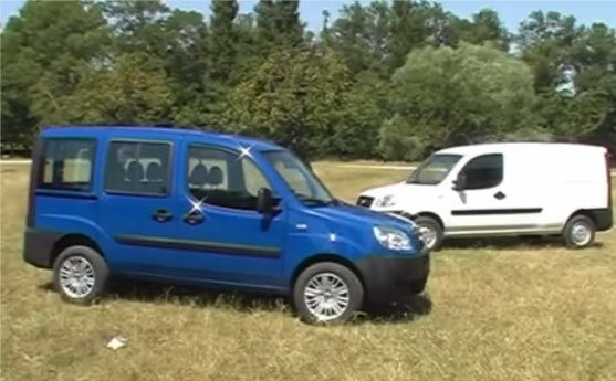FIAT Doblo vs Doblo New - Кабриолет