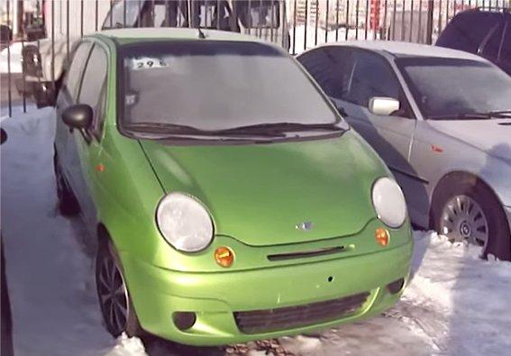 Daewoo Matiz 2006 — MegaRetr