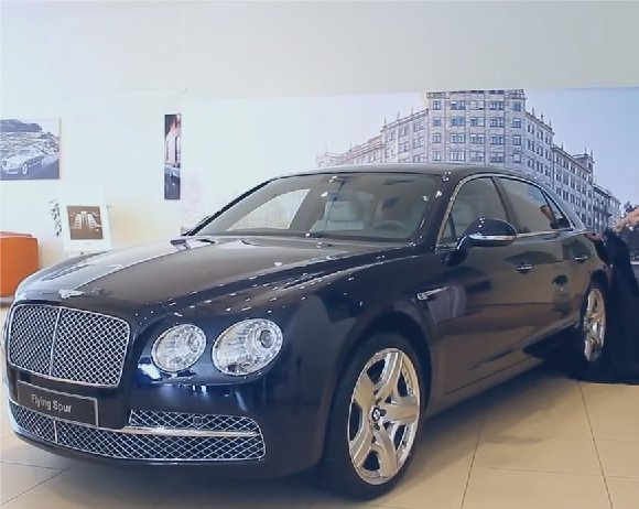 Bentley Flying Spur 2013 — Бибика